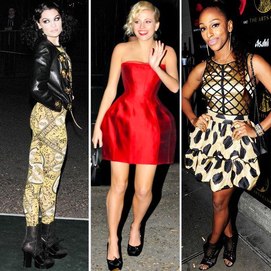 Alexandra Burke, Pixie Lott, Jessie J Brit Afterparty Style