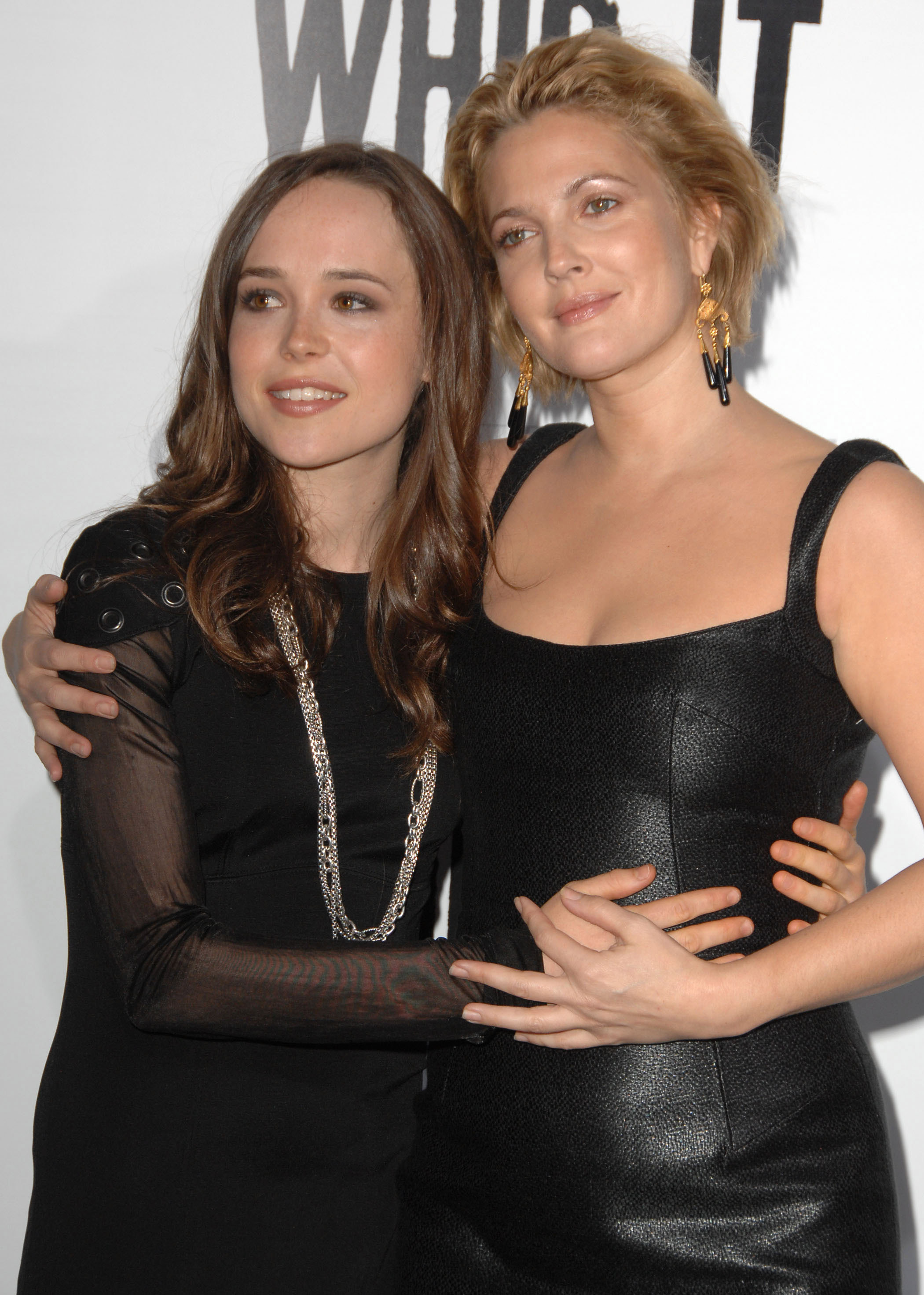 ellen page and drew barrymore relationship