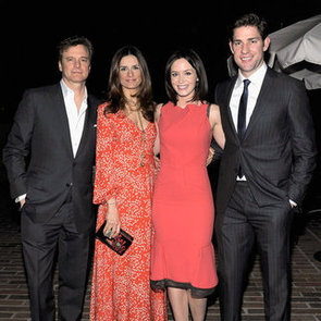 Colin Firth Party Pictures With Emily Blunt, John Krasinski and Cameron Diaz