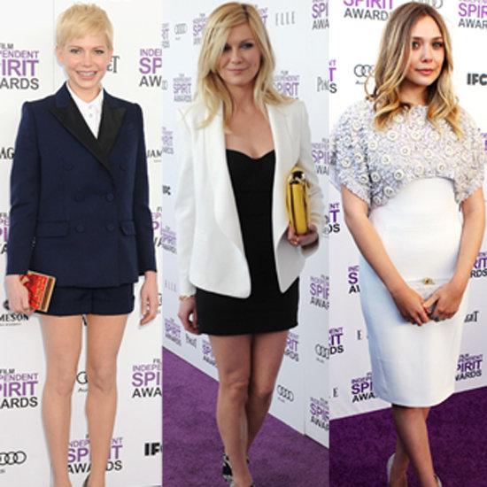 2012 Independent Spirit Awards Red Carpet Celebrity Pictures