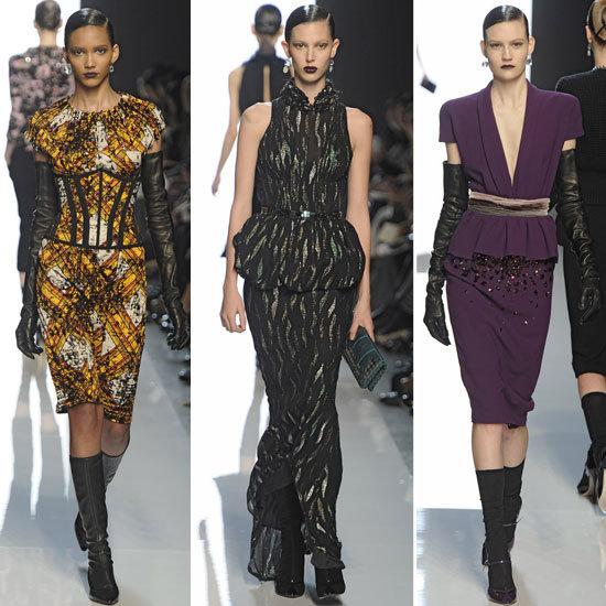 Review and Pictures of Bottega Veneta Autumn Winter 2012 Milan Fashion Week Runway Show