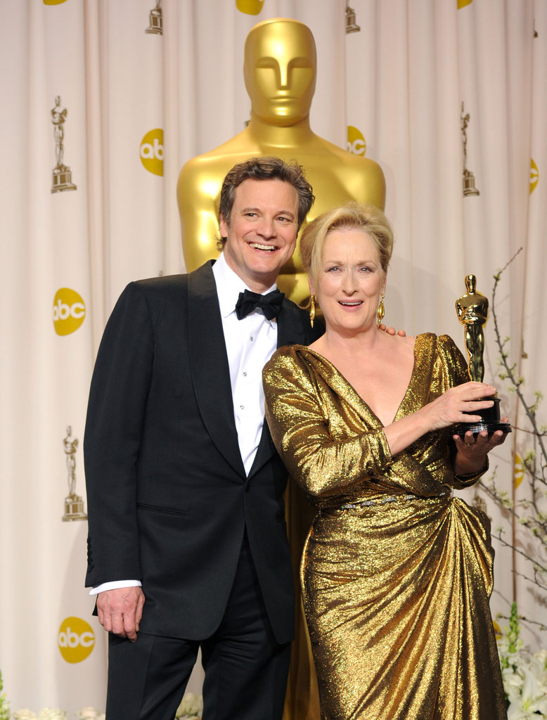 Colin Firth and Meryl Streep
