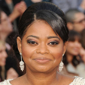 Octavia Spencer's Hair and Makeup at the 2012 Oscars