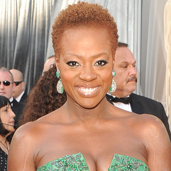 Viola Davis' Hair and Makeup at the 2012 Oscars