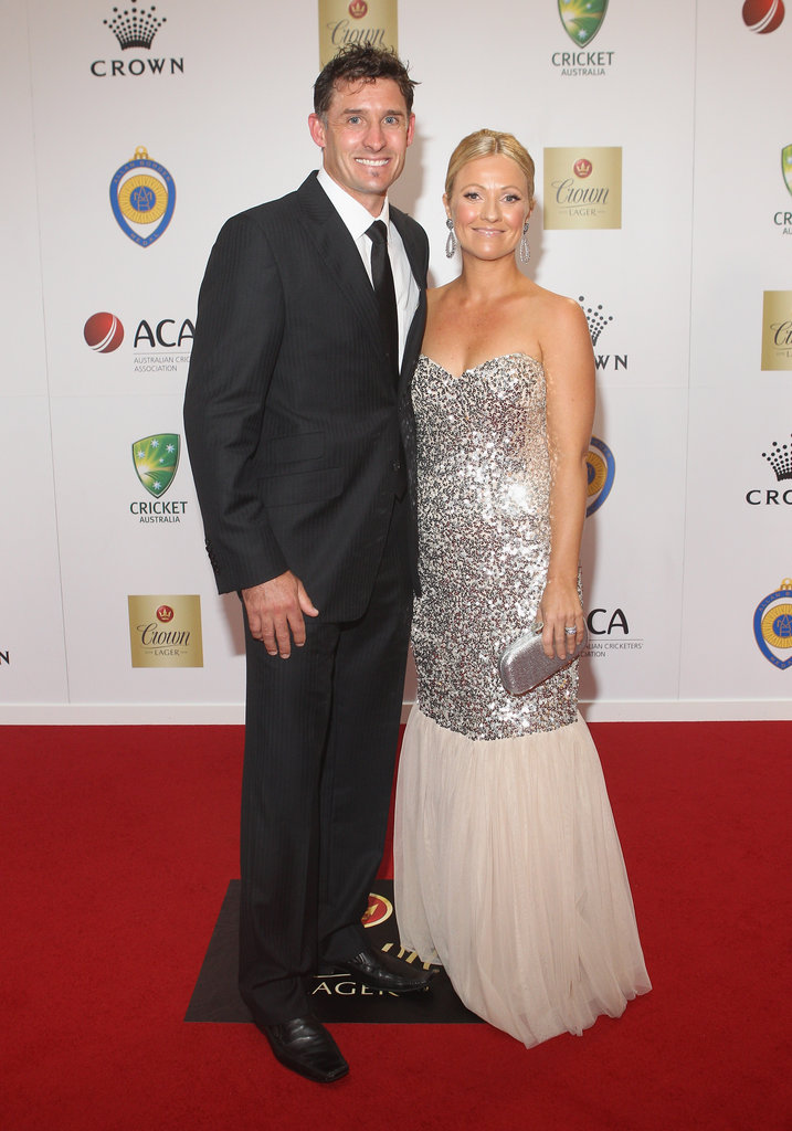 Mike Hussey and Amy Hussey