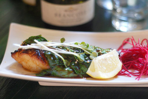 Glazed Chilean Sea Bass