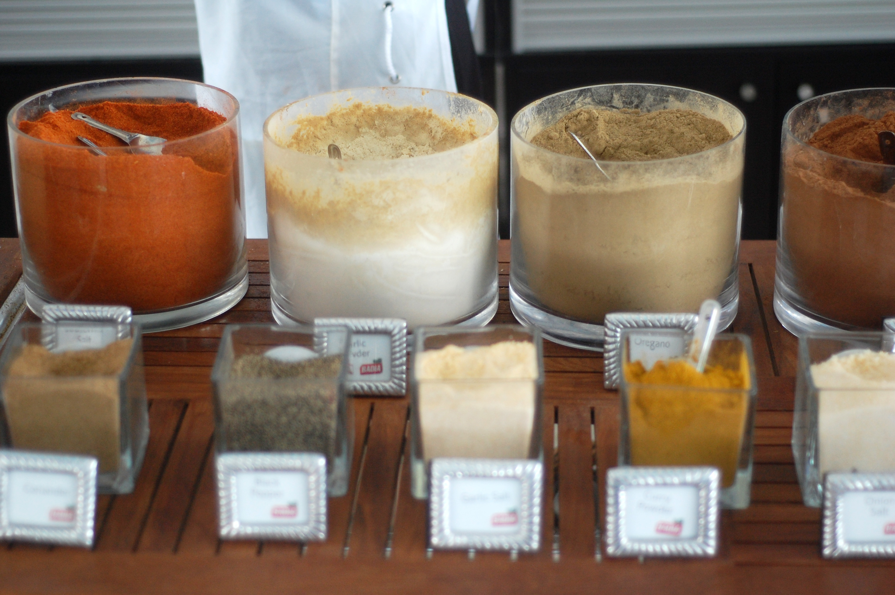 Celebrity Cruises DIY Spice Booth