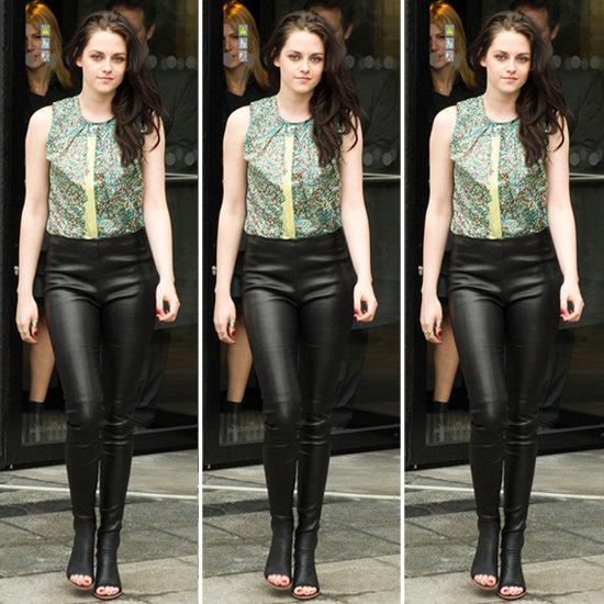 Kristen Stewart Leather Pants