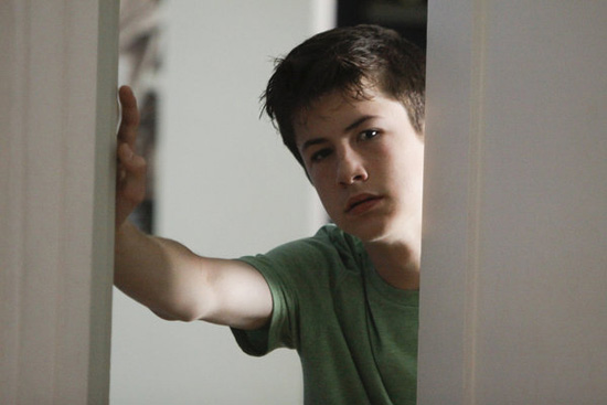 Dylan Minnette as Rex in Awake.