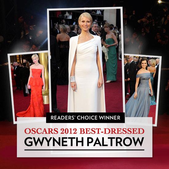 Oscars 2012 Best Dressed Bracket Winner
