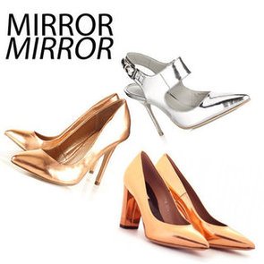 Ten of the Best High Shine Mirrored Shoes to Shop Now: Try the Trend from Marc by Marc Jacobs, Topshop, Kurt Geiger & more!