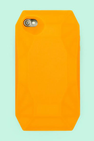 Orange Diamond iPhone 4 Case