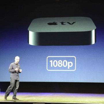 New Apple TV at iPad Apple Event