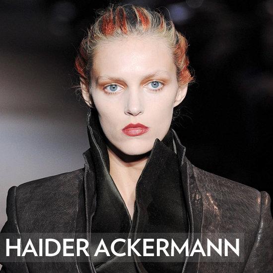 Haider Ackermann Hair Fall/Winter 2012