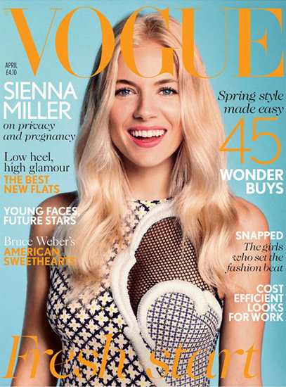 How to Create Sienna Miller's British Vogue Cover Hair