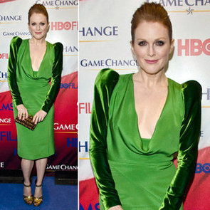 Julianne Moore Green Dress