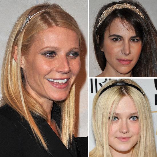 Celebrities Wearing Headbands: Gwyneth Paltrow and Dakota Fanning