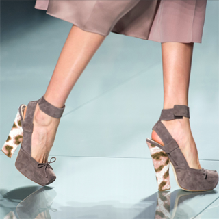 Paris Fashion Week Trend Report: Ankle-Strap Shoes