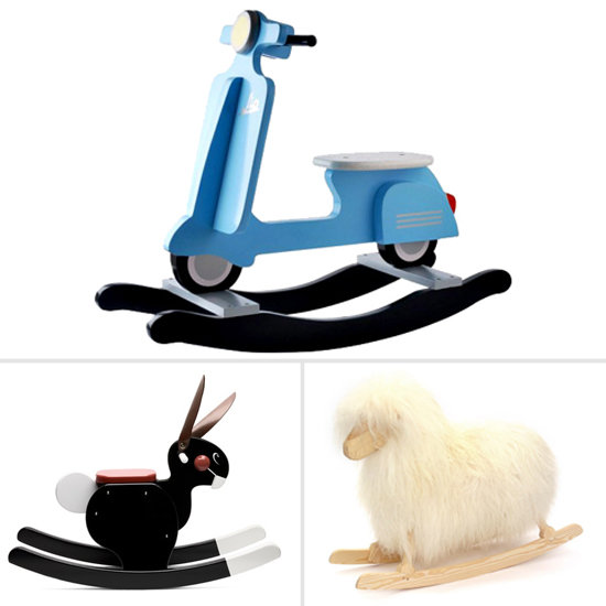 Mod Alternatives to the Old-School Rocking Horse