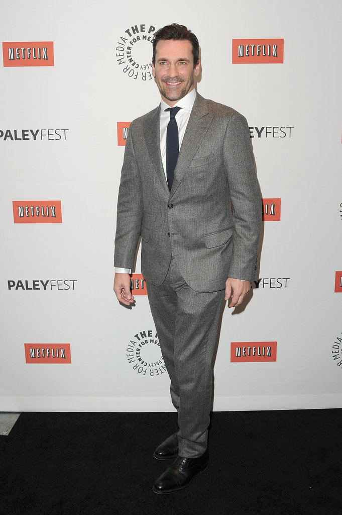 Jon Hamm attended the Mad Men PaleyFest panel.