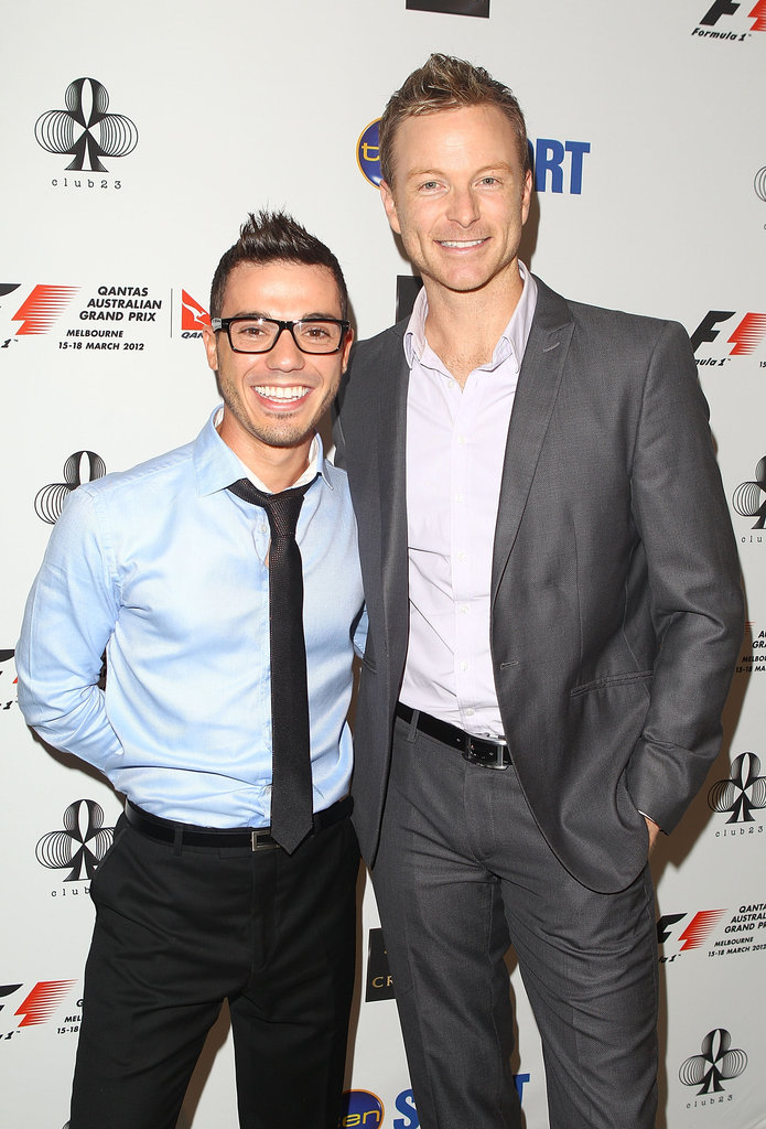 Anthony Callea and Tim Campbell