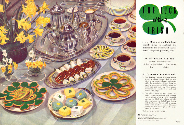 There's just something about the food in vintage ads that looks so . . . not edible.