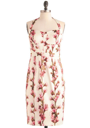 Polished in Petals Dress | Mod Retro Vintage Dresses | ModCloth.com