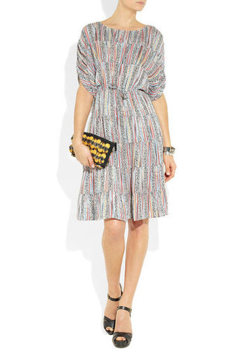 Tucker | Printed silk dress | NET-A-PORTER.COM