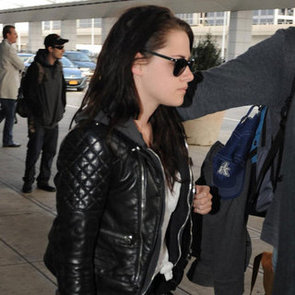 Charlize Theron and Kristen Stewart at JFK Pictures