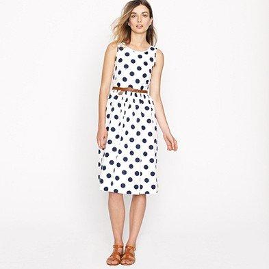 Big-shot dot dress