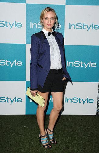 Diane Kruger Redefines Tuxedo Chic