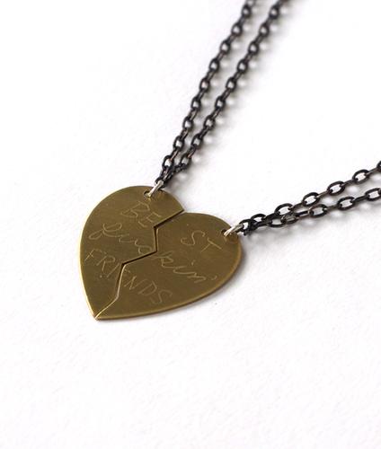 Best Fuckin' Friends Necklace