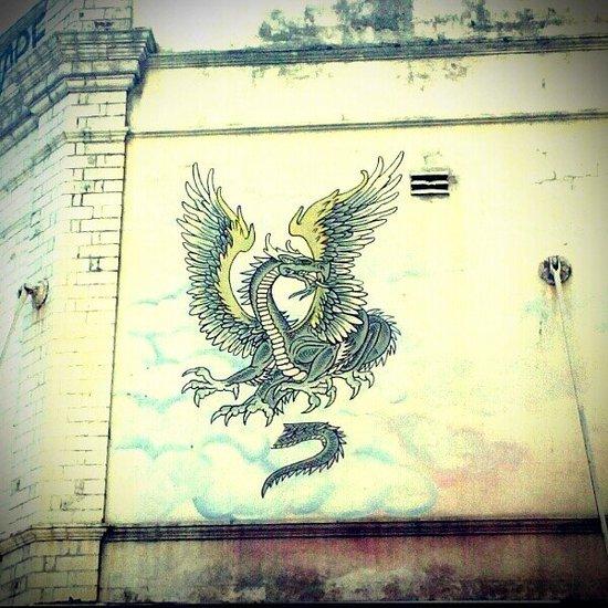Dragon street art 2