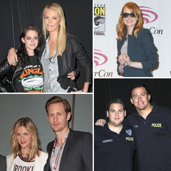 Charlize, Jonah, Kristen, Alexander and More Make Up a Star-Studded WonderCon Weekend