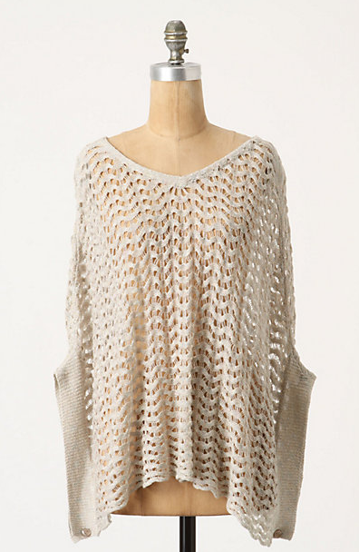 Spring concerts can get chilly at night; wrap up your look with this '70s inspired knit poncho.  Sparrow Brizo Poncho ($88)