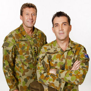 Interview With My Kitchen Rules 2012 Contestants Scott and David, Soldiers From Queensland