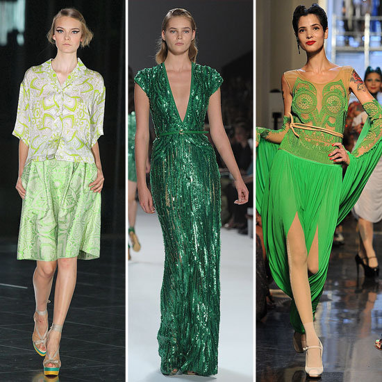 Colour Report: Green With Envy