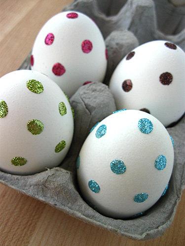 Glittery Polka Dots