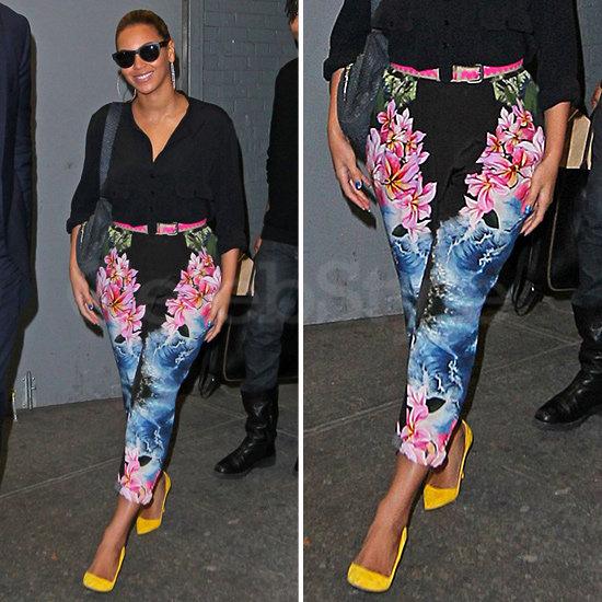 Beyoncé Floral Pants