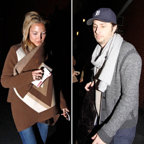Kate Hudson Steps Out to Support Zach Braff's Play