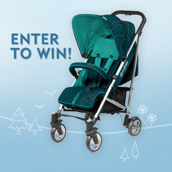 Day 8: Enter to win a Cybex Callisto Stroller