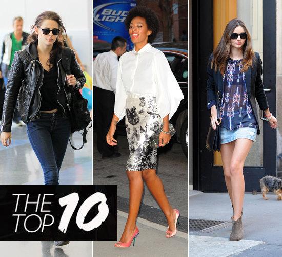 Pictures of This Week's Top Ten Best Dressed Celebrities 25th March Kristen Stewart, Beyonce, Miranda Kerr & More!