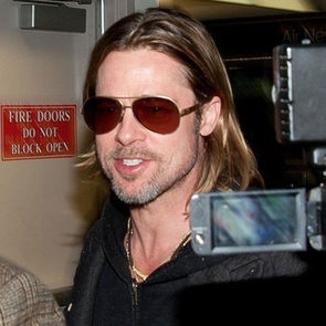 Brad Pitt at LAX Pictures