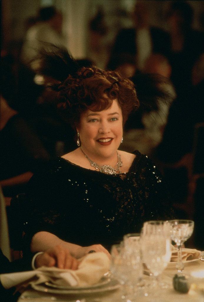Kathy Bates in Titanic.