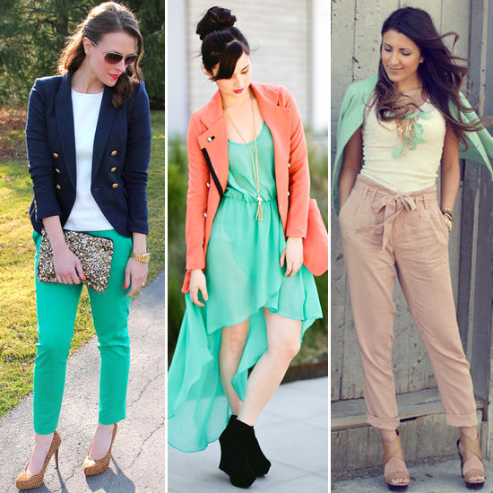 How to Wear Mint-Colored Clothes For Spring