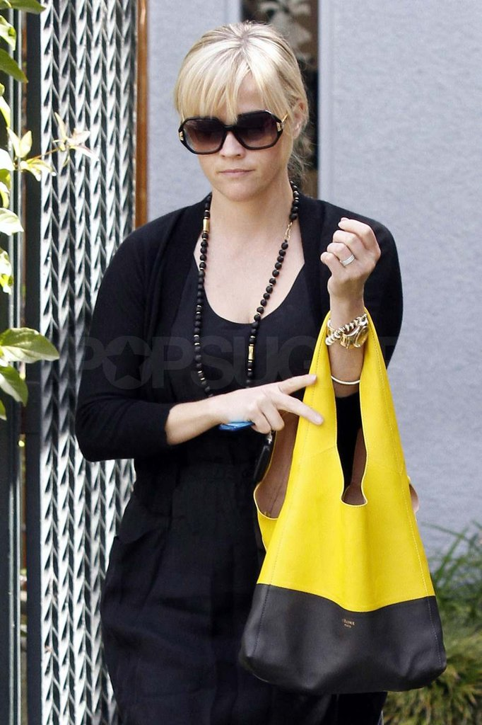 Reese Witherspoon left a friend's house in LA.