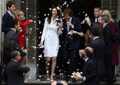 Nancy Shevell wed Paul McCartney in October 2011 in London.
