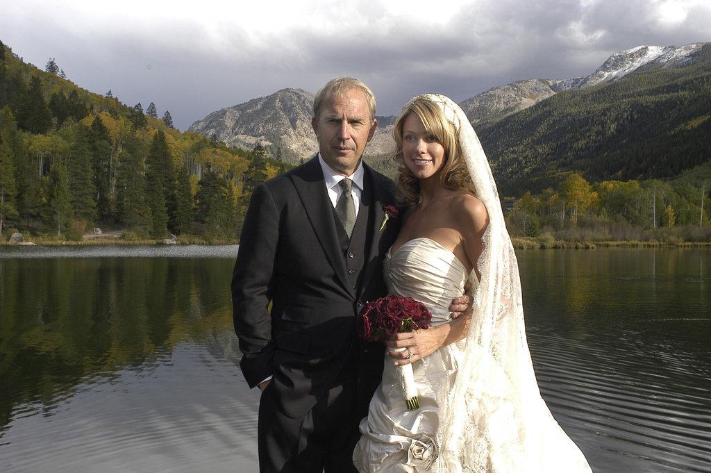 In September 2004, Kevin Costner married Christine Baumgartner in Aspen, CO.