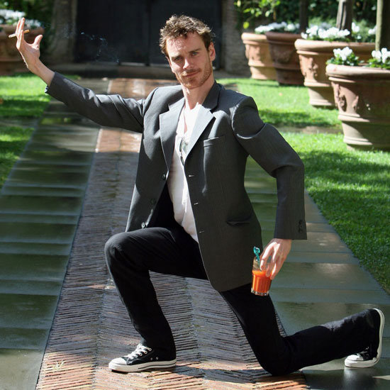 Michael Fassbender Birthday Pictures
