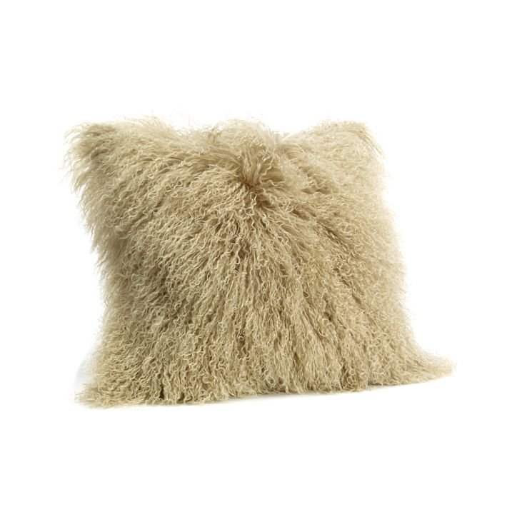 West Elm Mongolian Lamb Pillow Cover $54–$129)